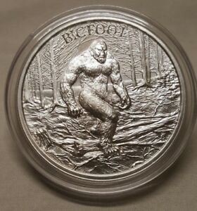 1oz-Bigfoot-Sasquatch-999-Fine-Silver-Round-Coin-American-Washington-Folklore