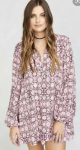 Show-Me-Your-Mumu-Cabernet-Rose-Jamie-Tunic-Size-Small-Pink