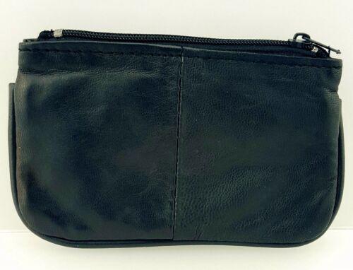 Hommes femmes cuir véritable haute qualité pièce changer pochette clés sac à main portefeuille 1464