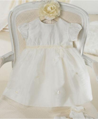 Bnwt Mamas and Papas Filles Robe de baptème taille 3 6 9 12 18 24 mois mariage
