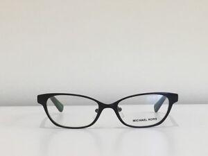 2ec660471ede 50 Michael Kors MK3014 1150 Sybil Cat Eye Black Metal Eyeglasses ...