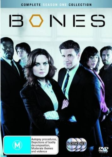 1 of 1 - Bones : Season 1 (DVD, 2007, 6-Disc Set)
