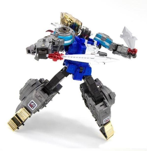 Nuevos Transformers de G-creación GCreation SRK 05B martillo de escoria Azul Figura En Stock