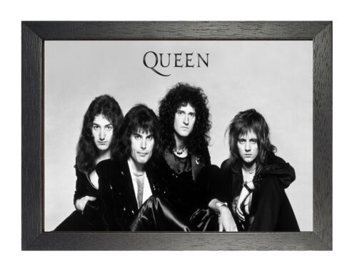 Freddie Mercury 30 British Legend Singer Poster Rock Queen Music Black White