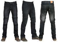 Force Riders Motorcycle Jeans Black Skinny Jeans W/ Dupont™ Kevlar® Fiber Liner