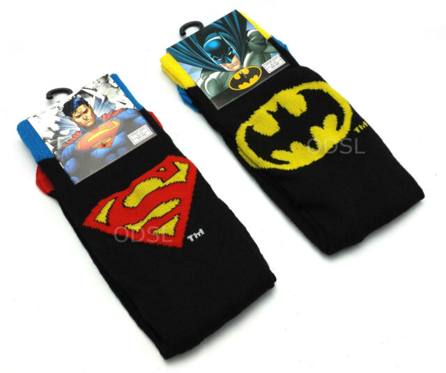 Mens OFFICIAL Socks Character DC Comics Superhero MARVEL Cartoon Gift 6-11 lot