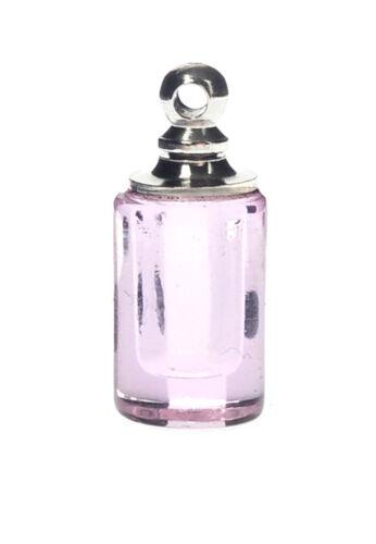 Anhänger Glas rosa Schraubverschluss 19x8,5mm 1 Stück