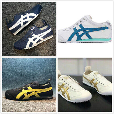Mens Womens Onitsuka Tiger Sneakers Lazy Shoes Canvas MEXICO 66 | eBay