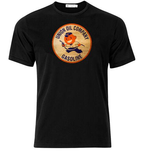 Union Oil Company Graphic Cotton T Shirt Short /& Long Sleeve