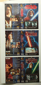 à Condition De Vintage Cbs Fox Video Vhs Cassette Tape Star Wars Widescreen Slick Sleeves Aust