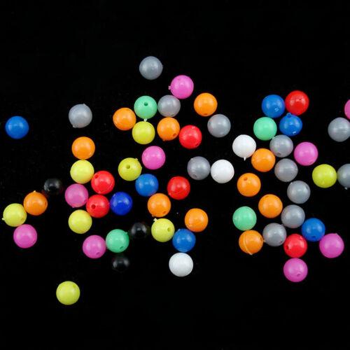 100x Perlensortiment Plastik Perle Angel Perlen Rund X2Z1 Perlen Fischköd