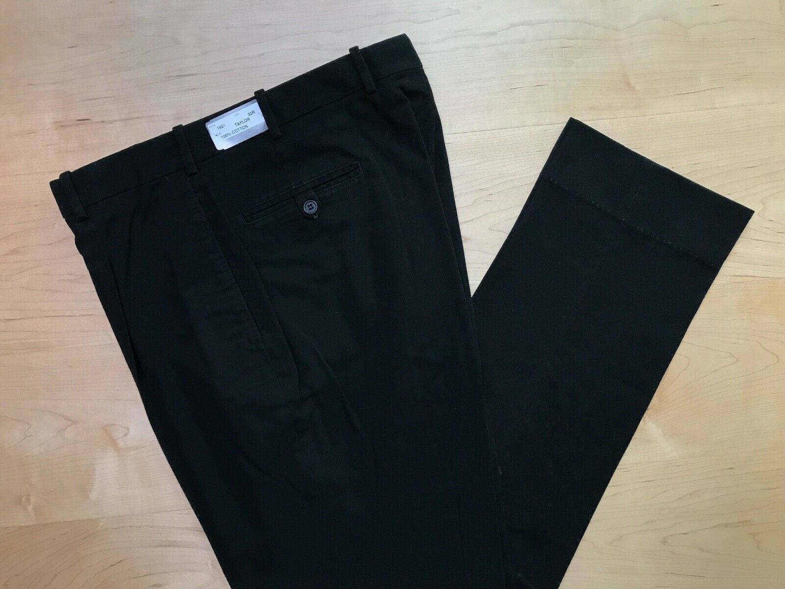 Epaulet x Hertling Trouser. 100% Cotton   Taylor fit   Size 35   1921. NEW.