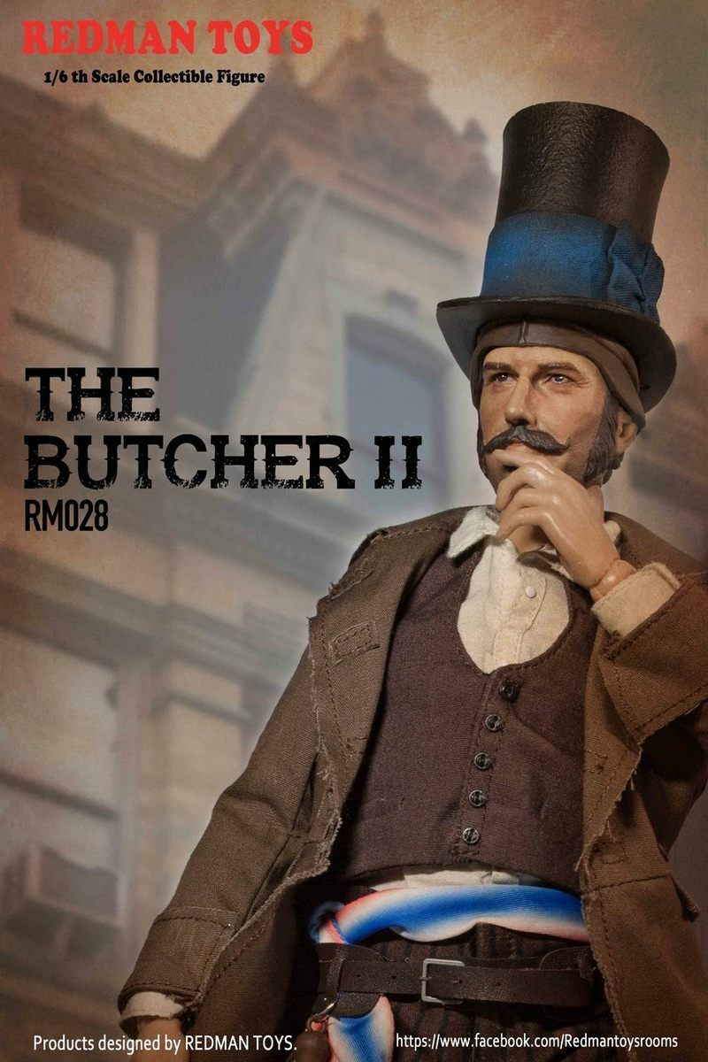 Redman Toys 1 6 Scale 12  The Butcher II Collectible Action Figure RM028