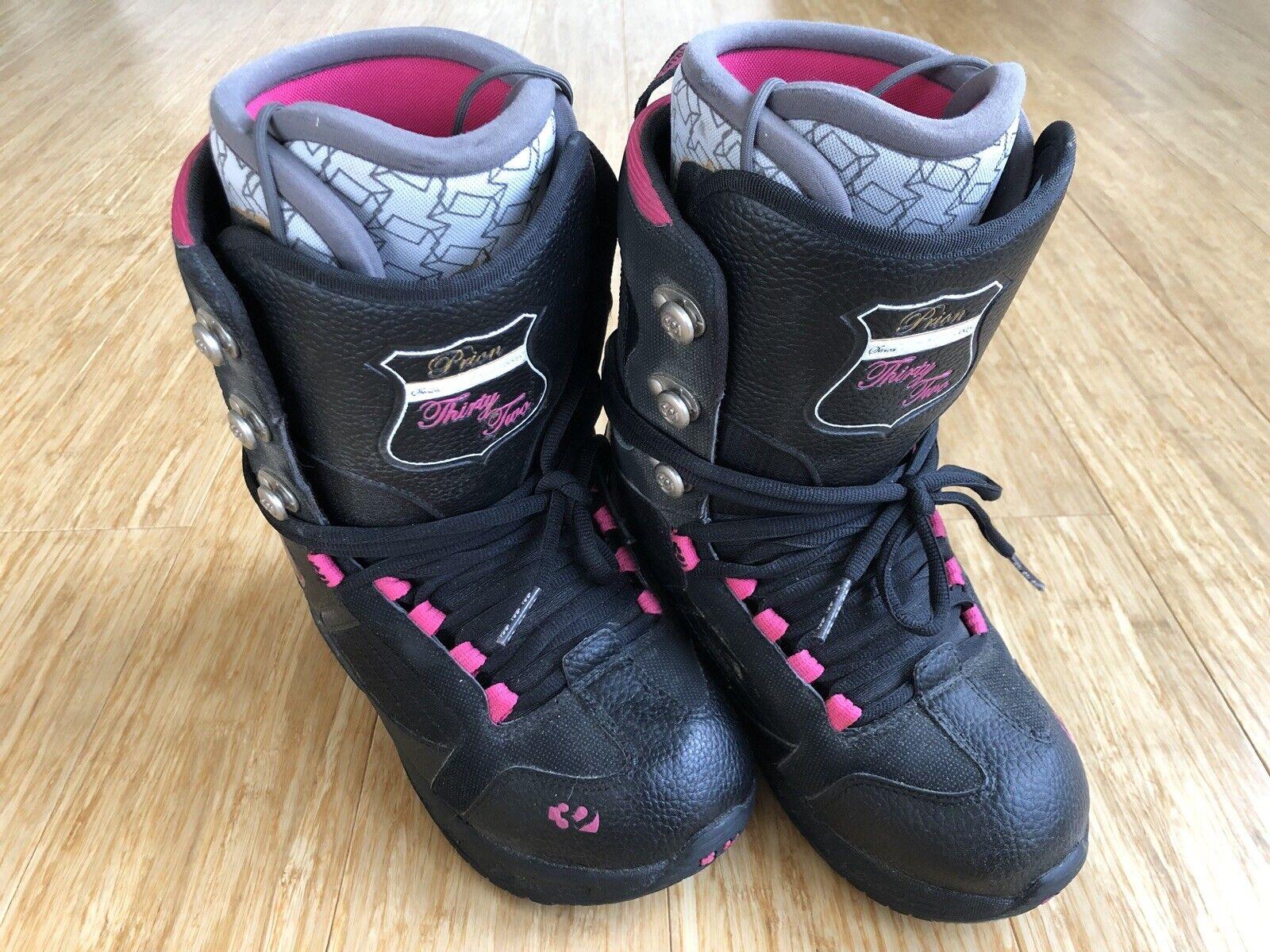 ThirtyTwo Prion damen's 7.5 (7 1 2) Snowboard Stiefel
