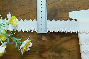 Cambric-Lawn-Cotton-Eyelet-Lace-CREAM-30mm-wide-6-Metre-Length-21061-FltLwnBraid