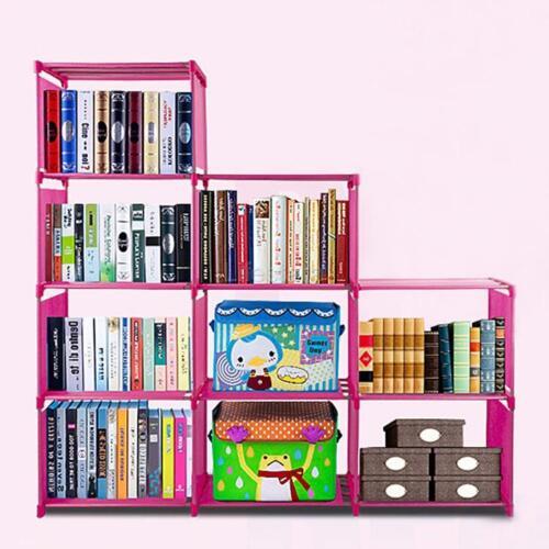 9 Shelf Bookcase Bookshelf Office Storage Furniture Shelves Display