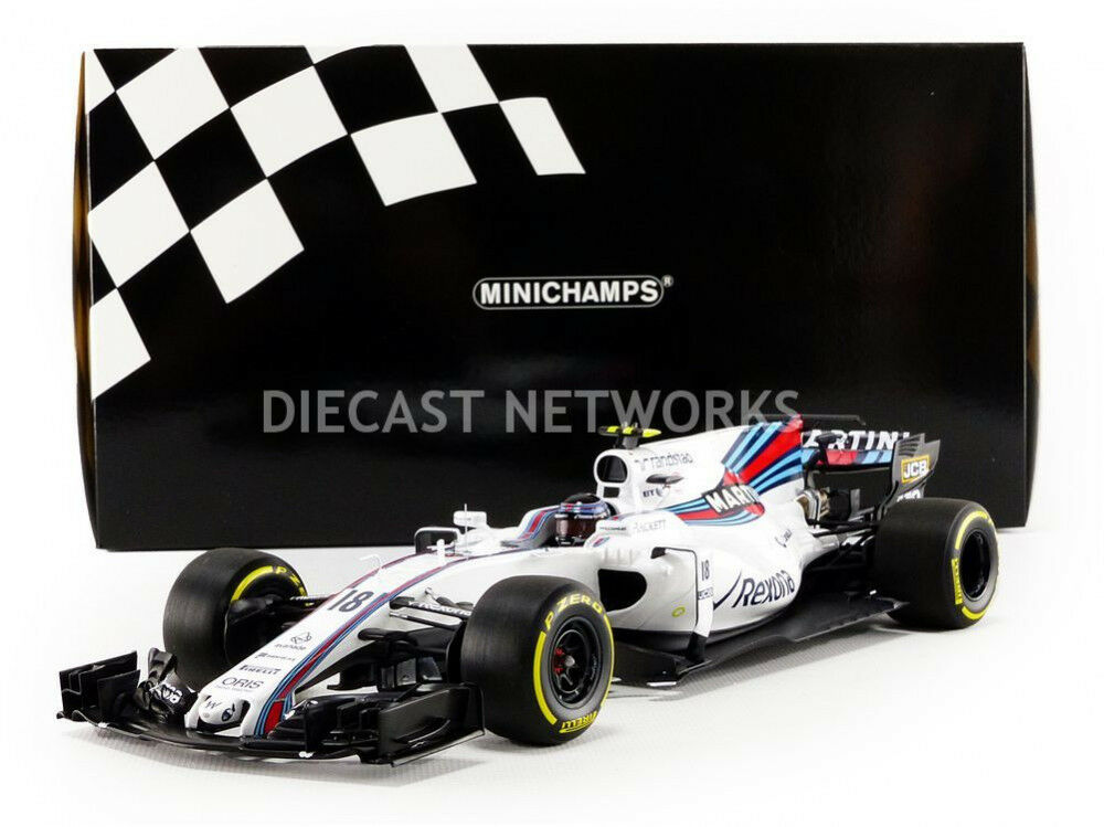 Minichamps Williams Mercedes FW40 Martini GP Australia 2017 Stroll  17 1 18 New
