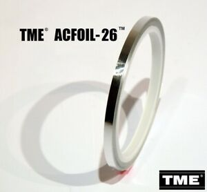 Audio-Sensing-Foil-Tape-Open-Reel-26-FT-TME-Real-Aluminum-Studio-Grade-New