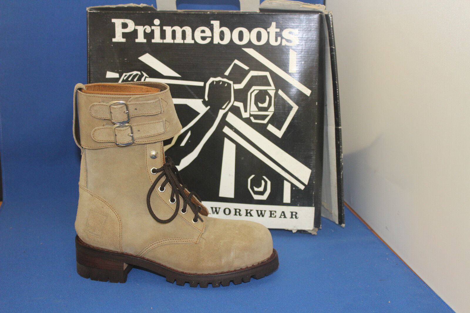 Prime botas registrador worker botas talla. 39 cuero Fashion