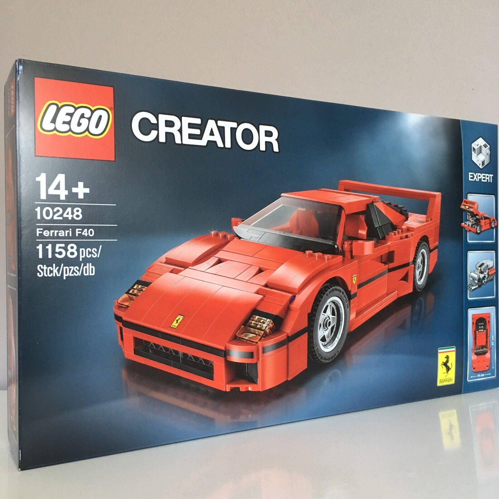 Lego 10248 Creator Expert Ferrari F40 - Brand New and Sealed
