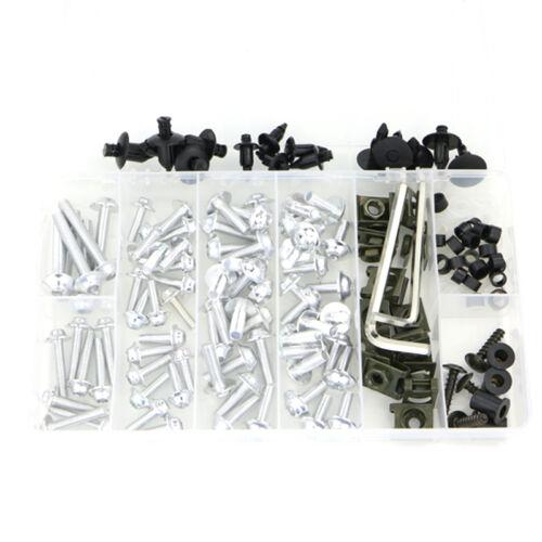 CNC Alloy Complete Fairing Bolt Kit Bodywork Screws For Buell XBRR 1125R 1190