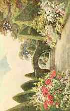 A4 Photo Elgood George S 1851 1943 Some English Gardens 1904 Northiam East Susse