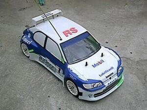 0036-Carrozzeria-body-RC-scala-1-10-bellissima-Peugeot-306-RACING-ALETTONE