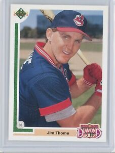1991 Upper Deck Final Edition #17F JIM THOME Rookie RC (Indians) HOF