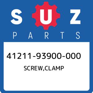 41211-93900-000-Suzuki-Screw-clamp-4121193900000-New-Genuine-OEM-Part