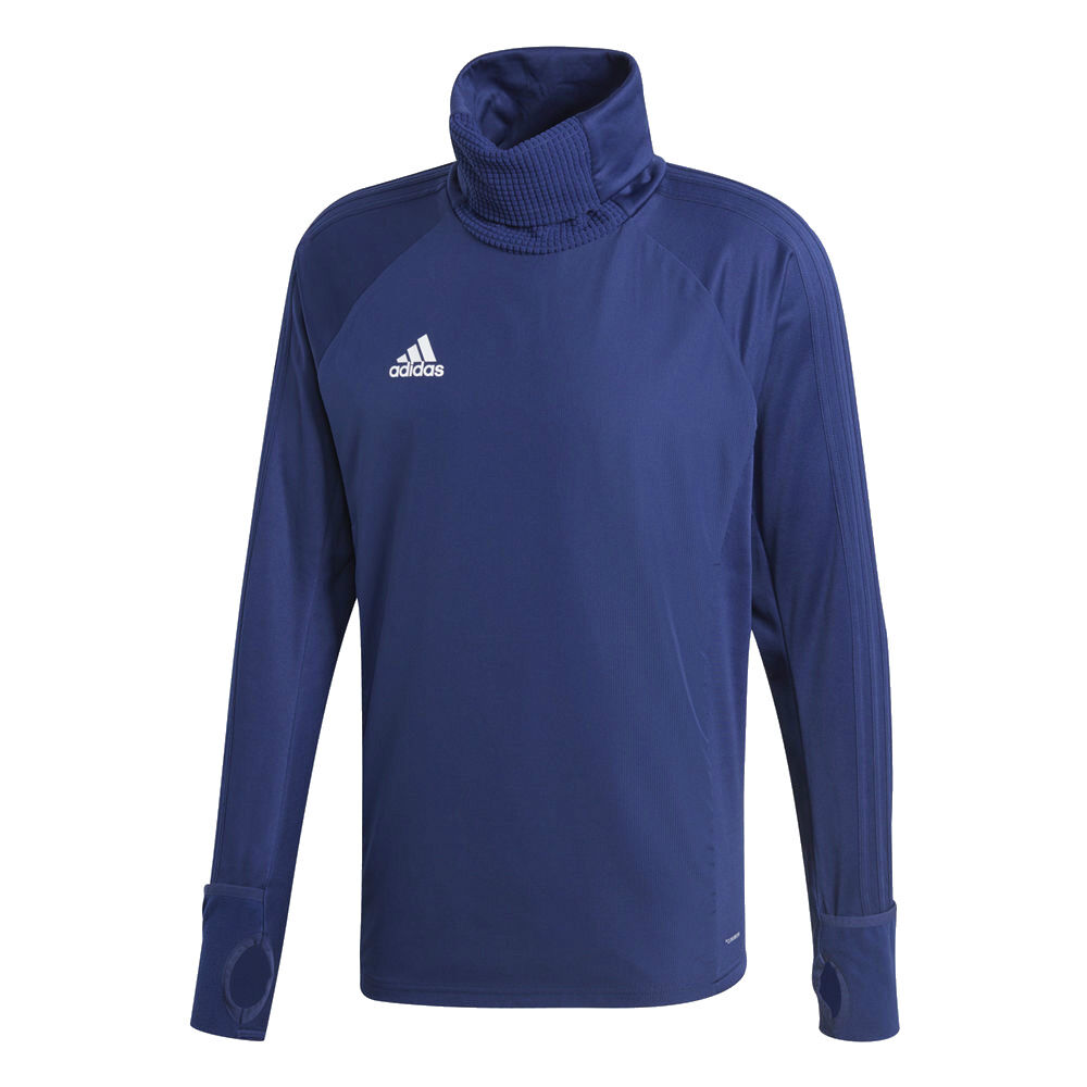 Adidas Mens Sports Football Soccer Player Warm Top Long Sleeve Thumb Hole
