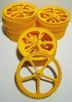 "K/'NEX Big Yellow Gear Large 5/"" Crown Replacement Parts Pieces Quantity Discount"