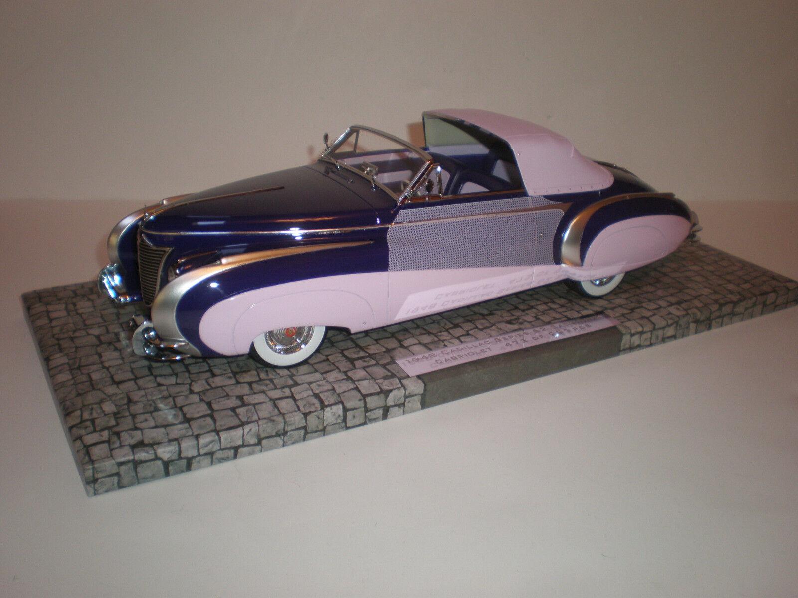 1 18 1948 Cadillac Series 62 Sarethik Congrönible   Minichamps