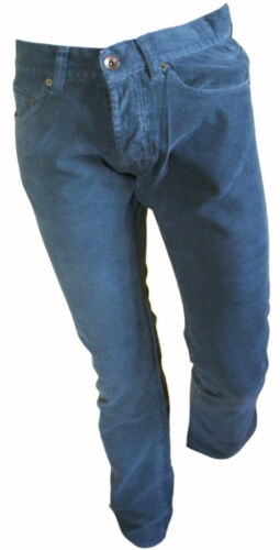 Pantalone mille righe Uomo 5 Tasche Casual Verde  Black Luxury  Taglie Varie