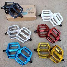 HARO FUSION PEDALS 9/16 FOR 3 PC CRANKS BMX BIKE BICYCLE PEDAL GT SE REDLINE