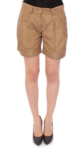 Gabbana It42 Nuovo us8 Poliestere Shorts Solido eu38 m Marrone Dolceamp; Seta 92EHDI
