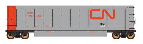 InterMountain HO 4403004-01 Canadian National AeroFlo Coal Gondola Single Car