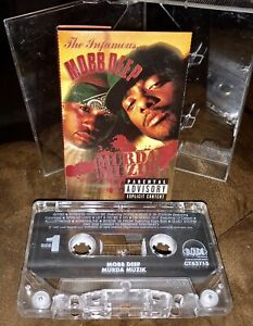 THE INFAMOUS MOBB DEEP MURDA MUZIK CASSETTE TAPE RAP HIP-HOP SUPER RARE LOOK!!