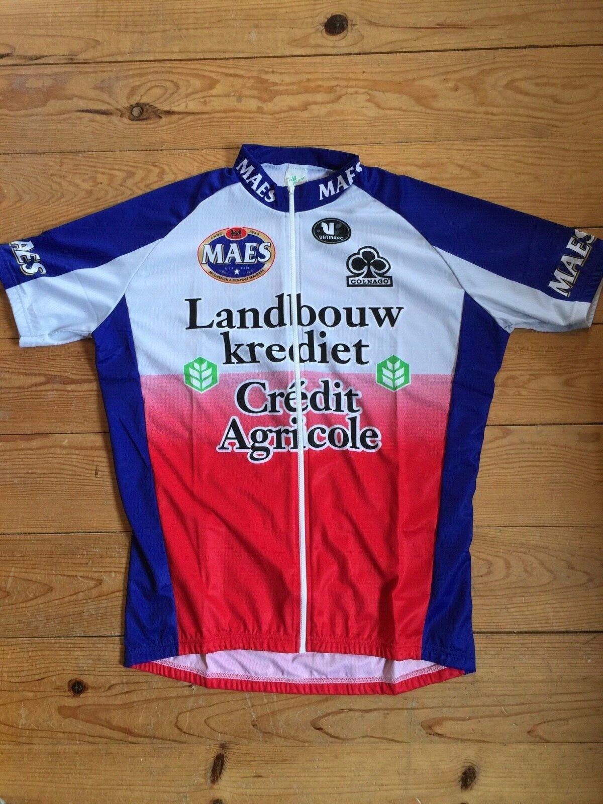 New Team Maes Landbouwkrotiet Colnago Radfahren Sie Jersey -  Various Größes