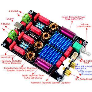 TPA3116-2-0-100W-100W-Classe-D-Double-Puce-WIMA-Deluxe-Digital-Power-amp-board