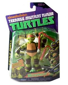 Battle-Shell-Michelangelo-TMNT-Ninja-Turtles-Action-Figure-New-2013-Storage-Mike