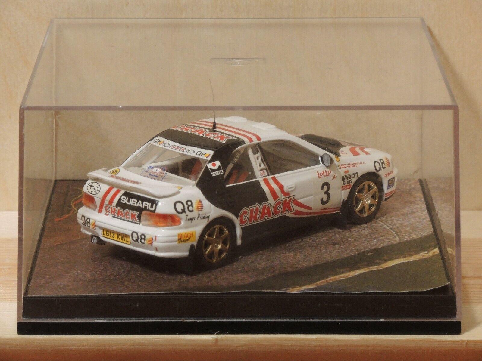 Trofeu 607 1 43 Subaru Subaru Subaru Impreza - Boucles de Spa 1995  3 - Lietaer -Derammelaere ef49c1