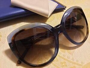check-out a3967 833a1 Occhiali Da Sole NAU Cat Eyes LIMITED EDITION Azzurro - Marrone ...