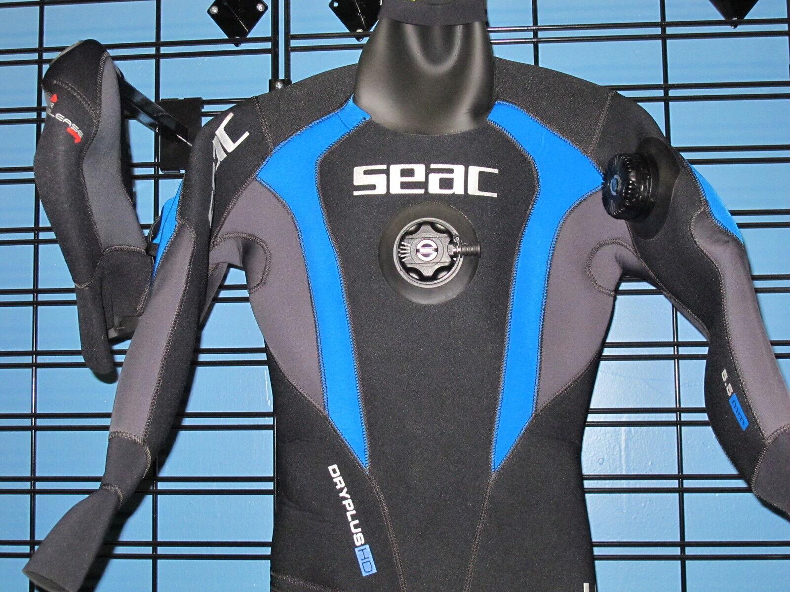 Seac  Women's Dry-Plus scuba diving drysuit size M  is discounted