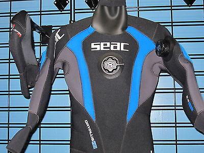 Seac Women's Dry-Plus scuba diving drysuit size XS