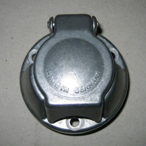 BREMI presa in metallo 7 poli 12v per gancio di traino 7 Spina POL