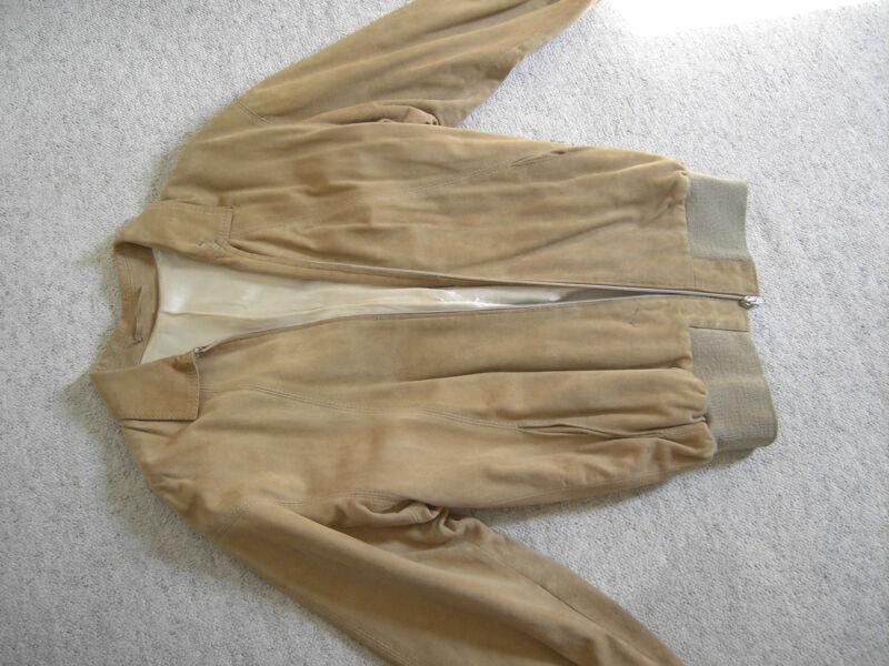 Wild Leder Jacke Vintage Ca Gr 40 KöStlich Im Geschmack
