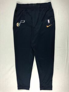 NEW-Nike-Utah-Jazz-Men-039-s-Navy-Athletic-Pants-Multiple-Sizes