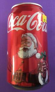 2011-Christmas-Coca-cola-Coke-Santa-xmas-Canada-Can-Rare