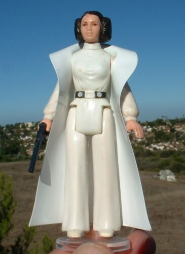 NICE Replacement White Vinyl Cape for 1977 Princess Leia Vintage Star Wars