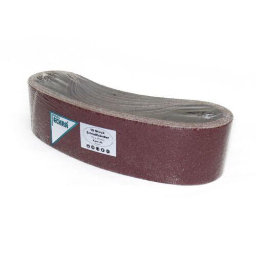 10 ECKRA® Schleifbänder 100x915 P150 Schleifpapier Schleifband aus Gewebe